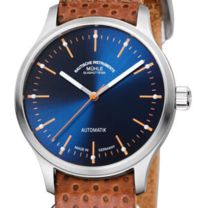 Panova Blue face Leather strap